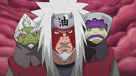 Jiraiya Orochimaru Tsunade Sage Mode And
