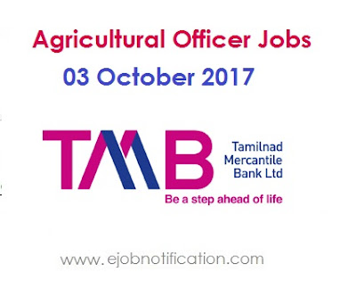 TMB Agriculture Officer Recruitment 2017 in TS and TN States Online tmb.in