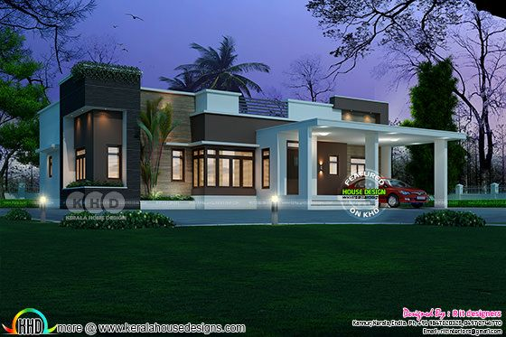 Single floor modern house 2026 square feet