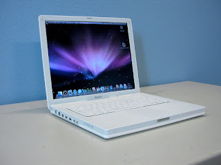 apple computer g4 ibook laptop
