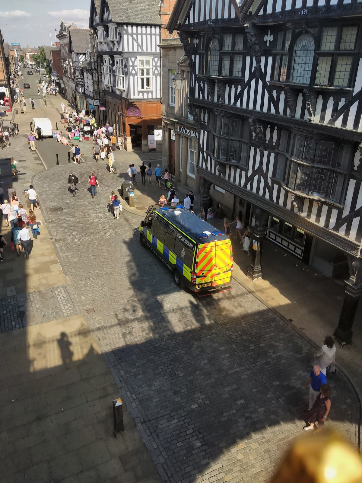 View of Chester from the city walls