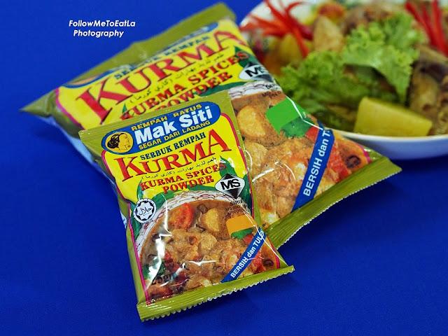 Mak Siti Serbuk Kurma / Kurma Spices Powder