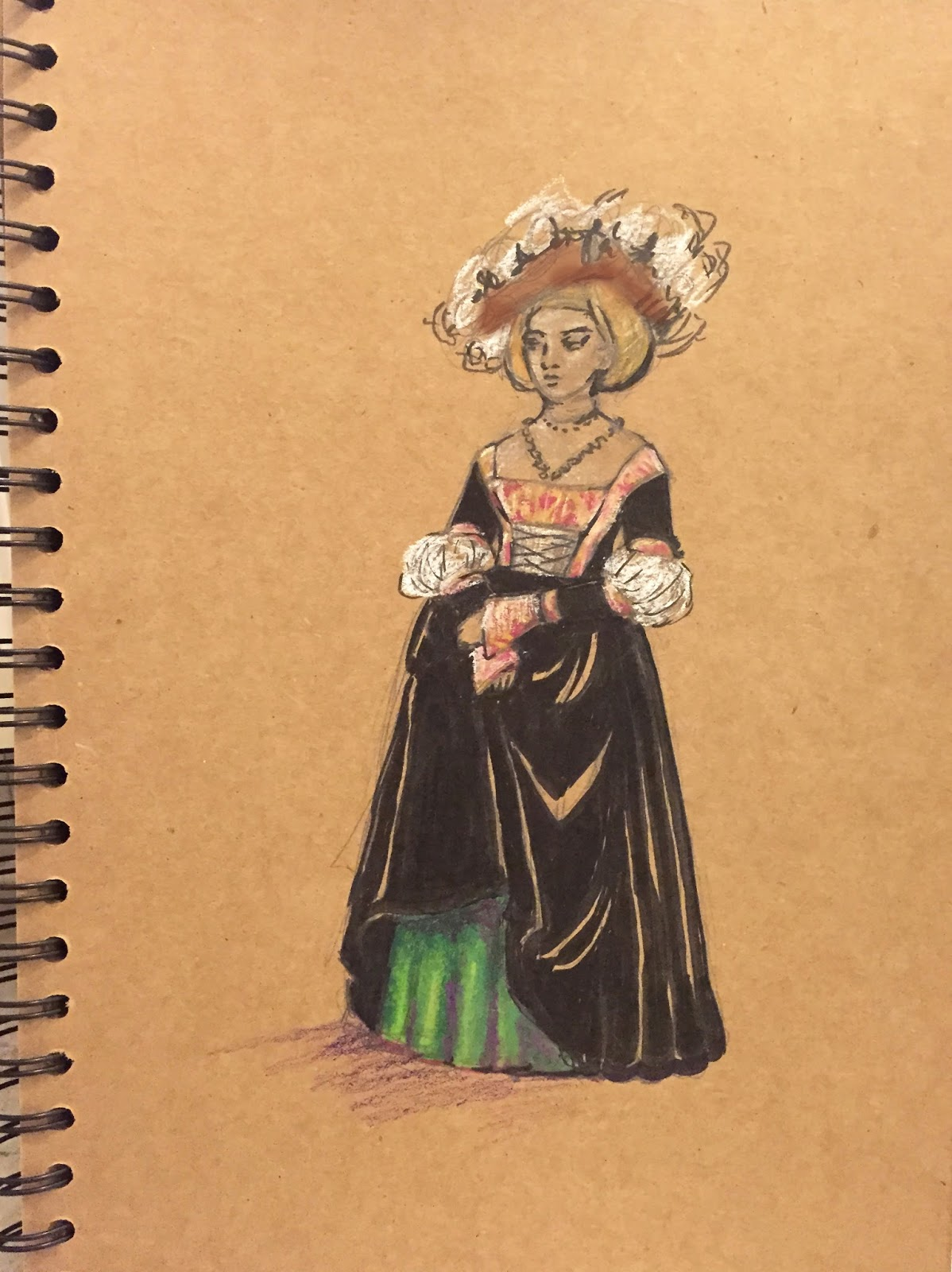 Gwendolyn Grey: Planning a German Renaissance Gown (in the style of ...