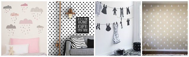 ideas diy paredes vinilo