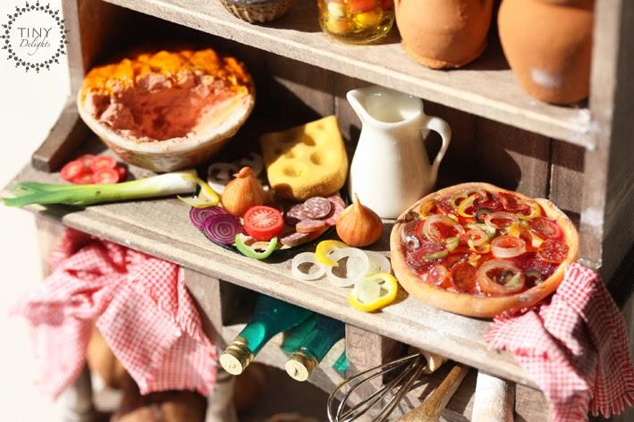 Mini Kitchen Cupboard Countertop Spice Cabinet