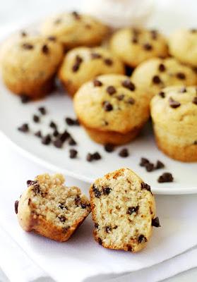 Leckere und schöne Schokoladenmuffins