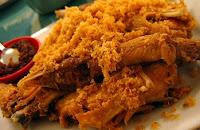 Masakan Ayam Goreng Kalasan Asli