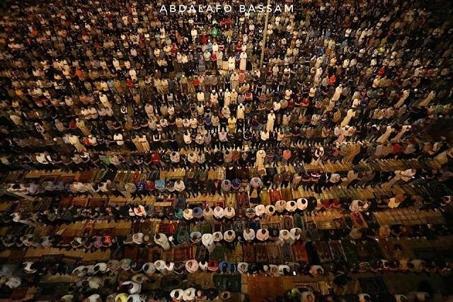 Malam ke 27 Ramadhan di Kompleks Masjid al Aqsha