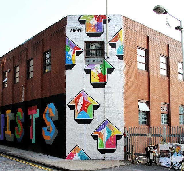 Street Art By Above in London, UK 1