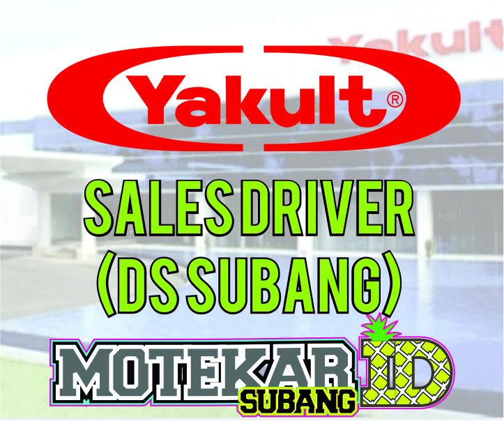 Info Loker Sales Driver Ds Subang Yakult Subang 2019 Motekar Subang