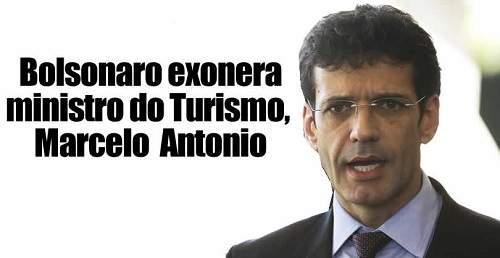 Ministro do Turismo, Marcelo Álvaro Antônio, é exonerado por Bolsonaro