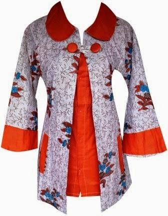 Kumpulan Foto Baju Batik Kombinasi