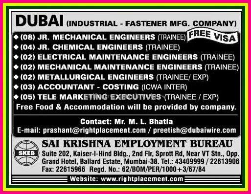 Gulf Jobs for Malayalees