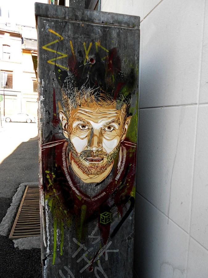 Уличное искусство Кристиана Гуеми (Christian Guémy aka C215) 45