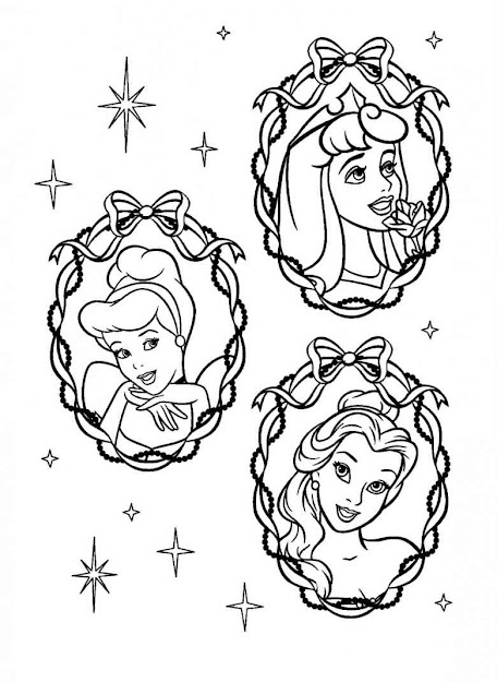 Disney Princesses Coloring Pages And Sheets Find Your Favorite Cartoon  Coloring Picures In The Coloring Library