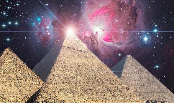 La pirámide de Giza