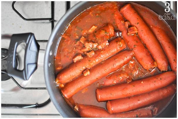 receita cachorro quente mexicano