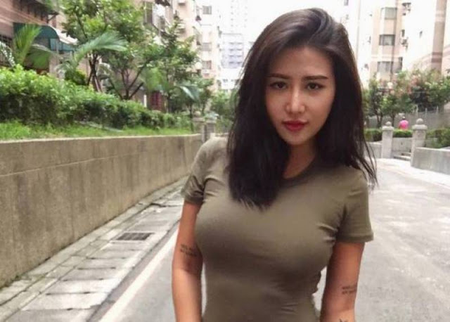 Photos of Carina Linn, 23, from Taiwan dubbed the 'world's sexiest nurse'