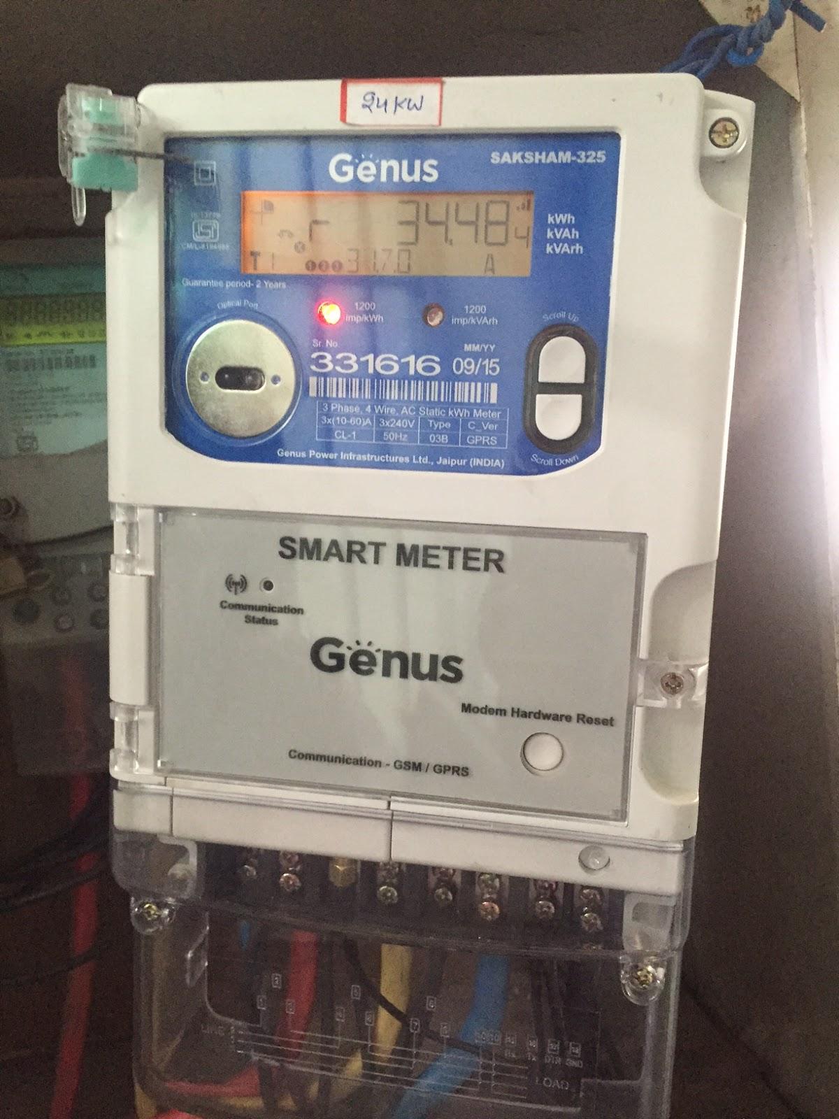 Increasing Electricity Meter : Urban journal smart electric meters pilot