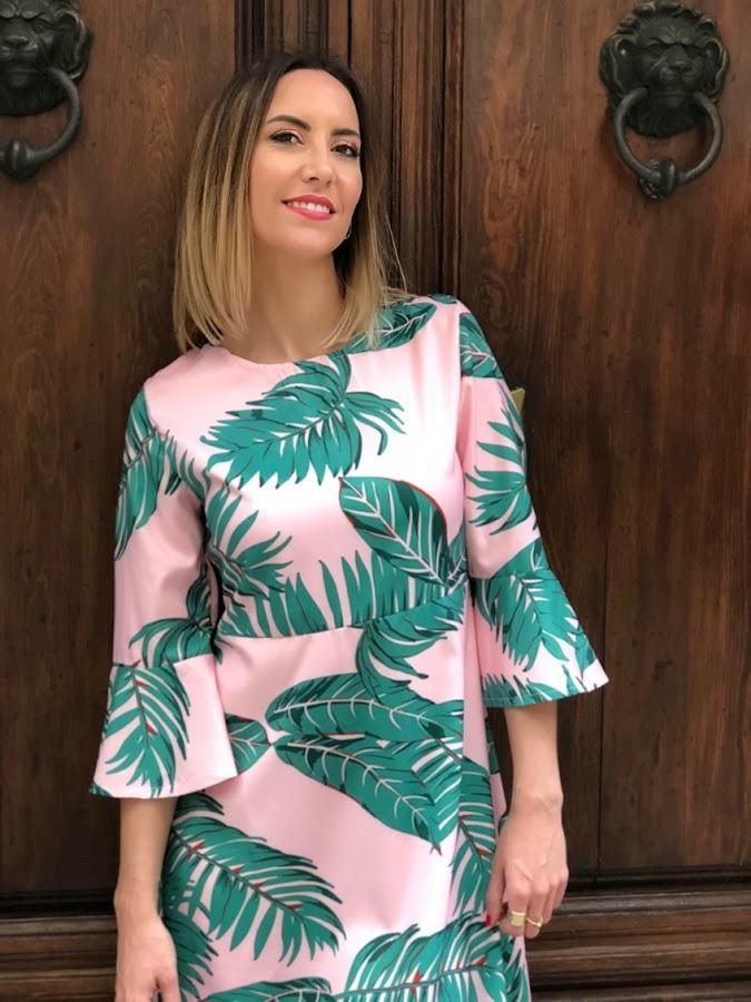 Fitness And Chicness-Leaf Print Dresses La Familia-10