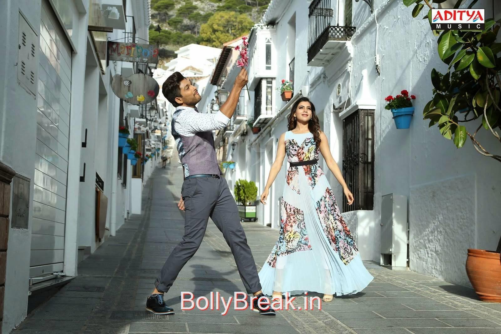 Allu Arjun-Son Of Sathyamurthy Telugu Movie Latest Stills, Nitya Menon Hot HD Pics From Son Of Sathyamurthy Movie