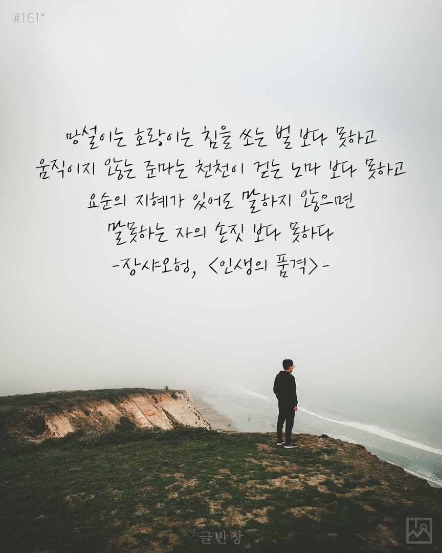 인생의 품격 - 장샤오헝, <인생의 품격>