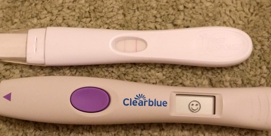 clear blue pregnancy test instructions