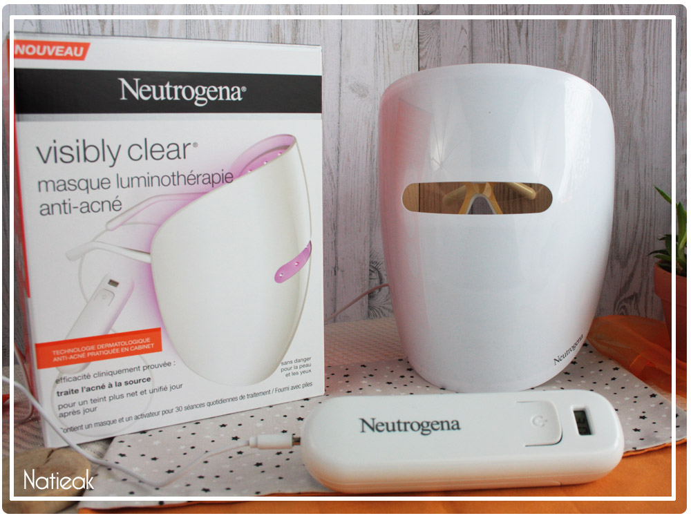 masque luminothérapie neutrographie avis