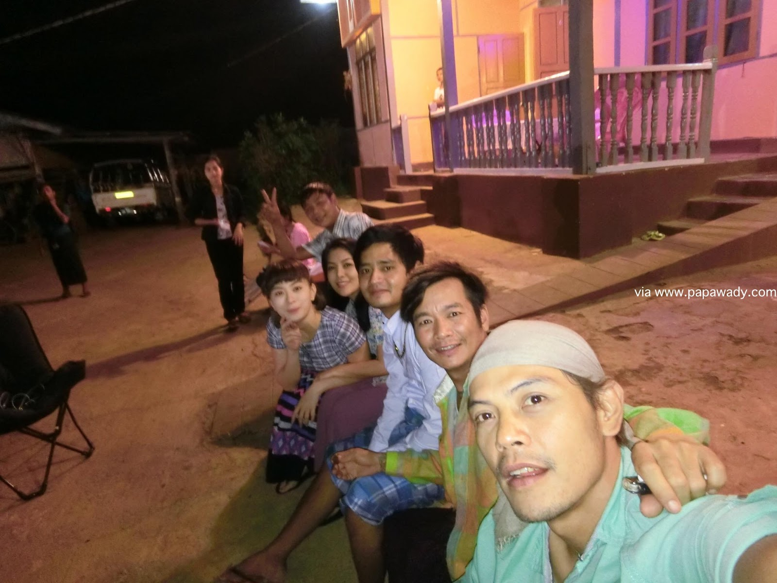 Wut Mhone Shwe Yi Behind The Scenes Photos In Pyin Oo Lwin