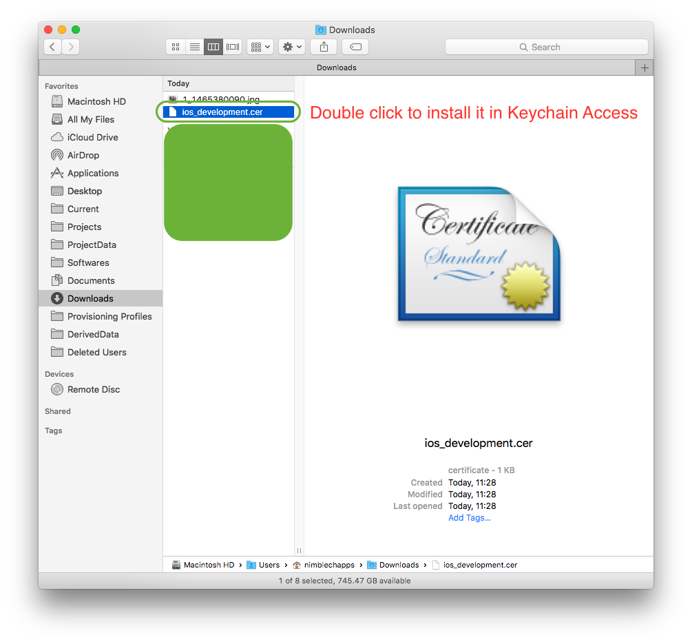 how to get apple developer certificate