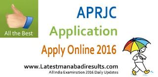 APRJC CET 2016 Notification, APRJC Admission Test 2016, APRJC Application Form, www.aprs.cgg.gov.in, APRJC CET Apply Online, APRJC 2016, APRJC Eligibility, Cut Off