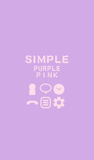 SIMPLE purple*pink*