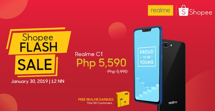Realme Launches Official Shopee Store