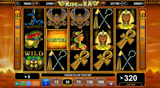 de online slots rise of ra slot machine