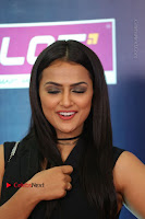 Actress Shraddha Srinath Stills in Black Short Dress at SIIMA Short Film Awards 2017 .COM 0085.JPG