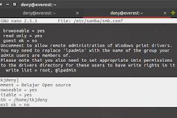 Install dan Konfigurasi Samba Server Ubuntu