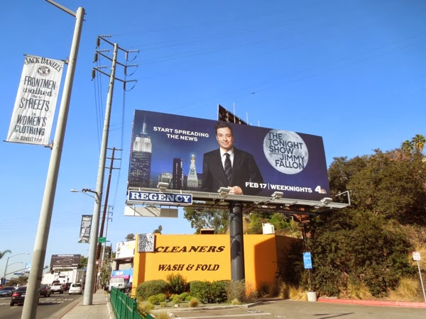 The Tonight Show Jimmy Fallon billboard