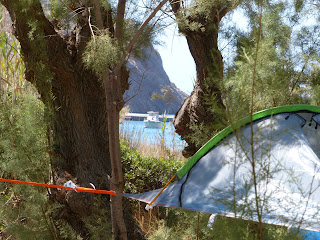 Wild camping in Greece Summer Hammocks Tentsile Greece