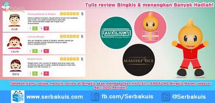 Kontes Review Bingkis Berhadiah Total Rp. 1.305.000
