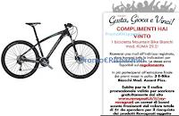 Logo Con Rovagnati si vince! ecco la prima Mountain Bike Bianchi assegnata!