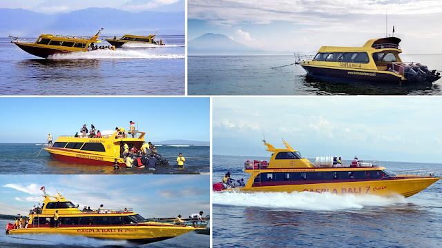 Caspla Fast boat transfer to Nusa Penida