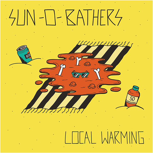 "Sun-0-Bathers stream new EP ""Local Warming"""