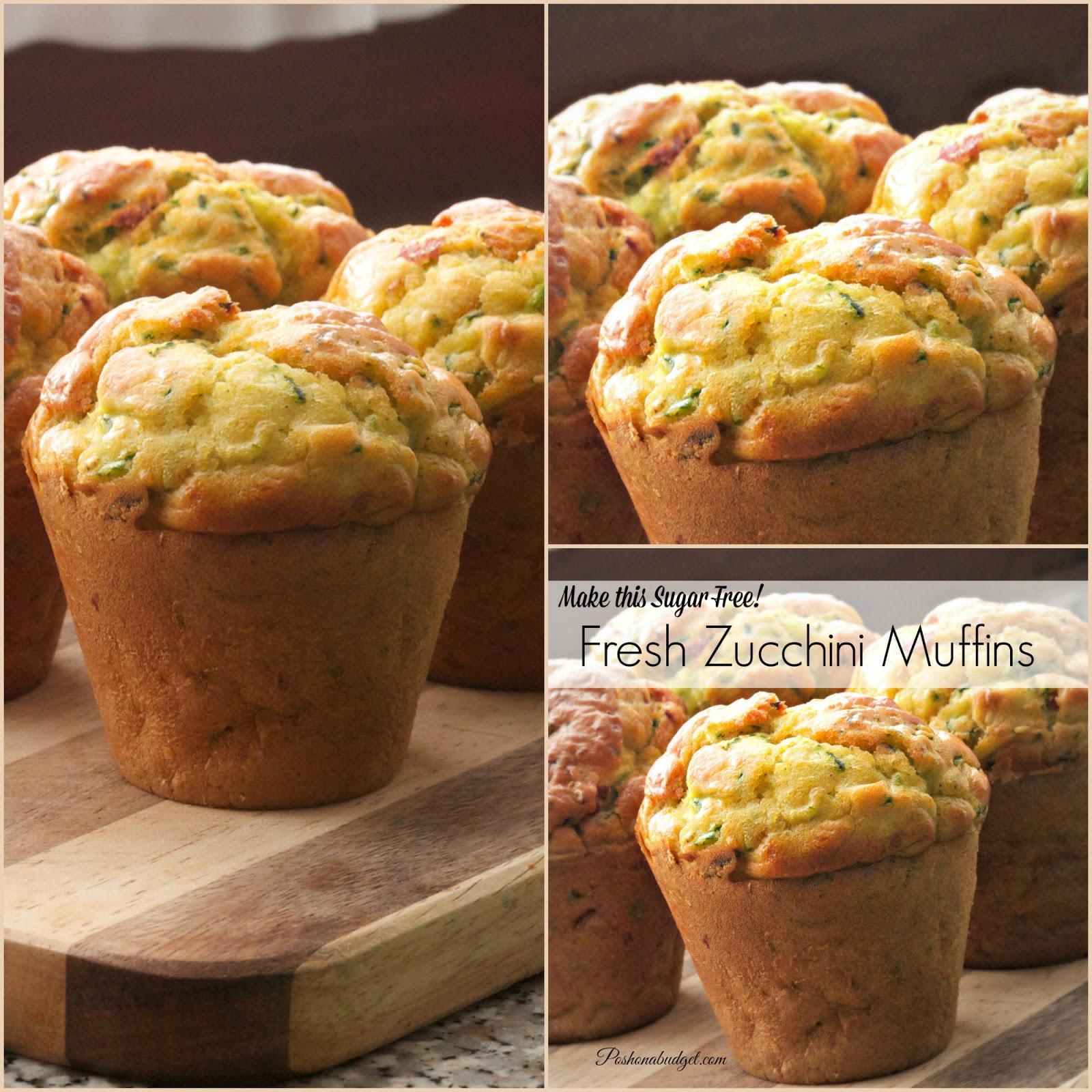 Homemade Zucchini Muffins