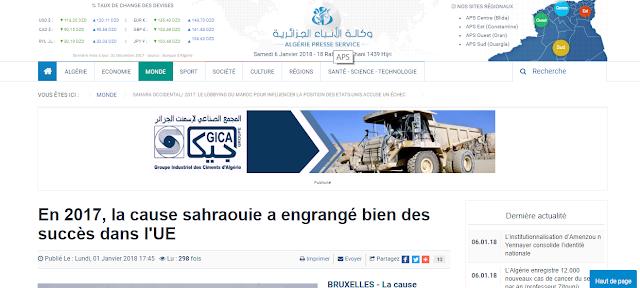 Sahara Occidental : La diplomacia de la mitomanía