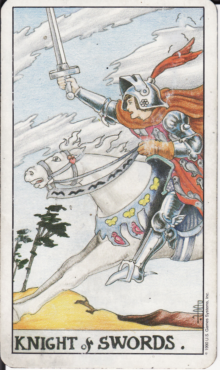 TAROT - The Royal Road: KNIGHT OF SWORDS