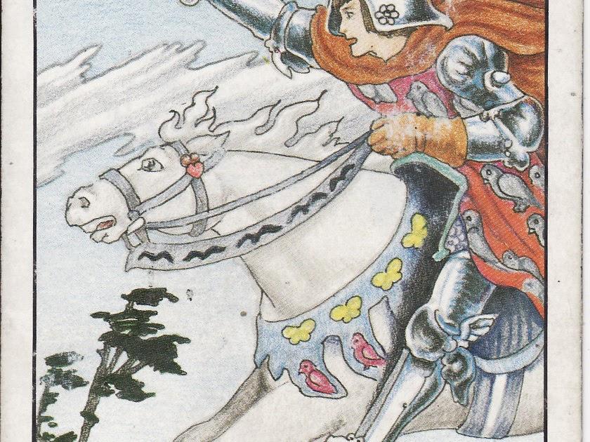 TAROT - The Royal Road: KNIGHT OF SWORDS