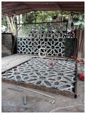 Pengrajin Logam Cor Aluminium
