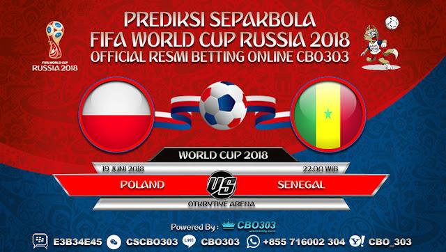 Prediksi Pertandingan Sepakbola Piala Dunia 2018 Poland VS Senegal 19 Juni 2018