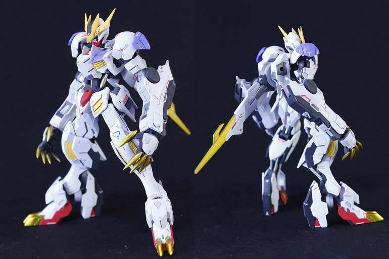 Custom Build: HG 1/144 Gundam Barbatos Lupus Rex
