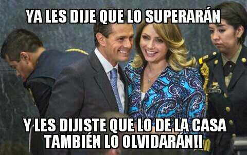 """Diálogo en la """"Casa Blanca"""" entre Peña Nieto y """"La Gaviota"""""""